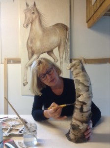 Kunstenaar Bertje van Delden