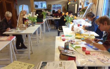 Cursus Schilderen en Tekenen in Zutphen