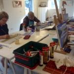 Cursus Schilderen en Tekenen in Zutphen op de Boerderij in kleine groepen